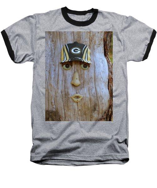 Green Bay Packer Humor Baseball T-Shirt