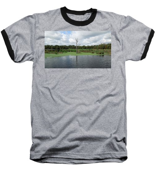 Baseball T-Shirt featuring the photograph Green Cay Panorama by Ron Davidson