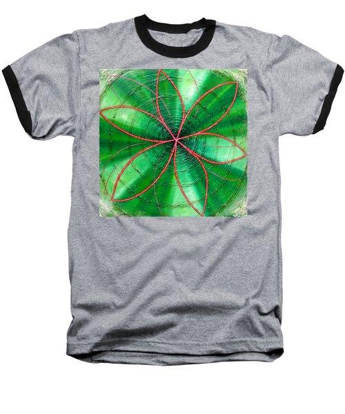 Green Chakra Baseball T-Shirt