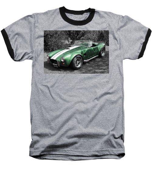 Green Cobra Baseball T-Shirt