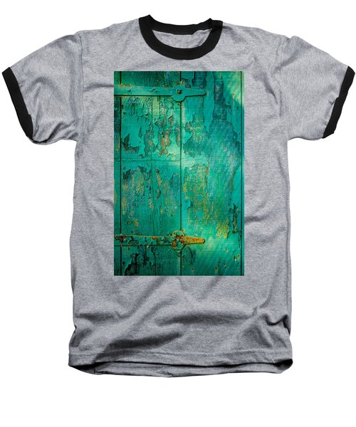 Green Door - Carmel By The Sea Baseball T-Shirt