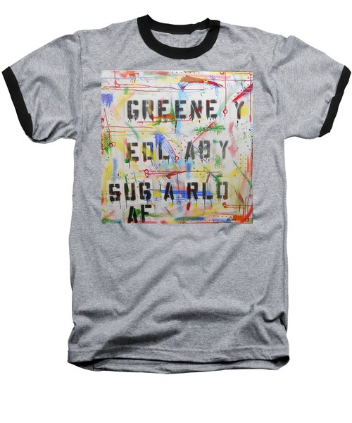Green Eyed Lady Baseball T-Shirt