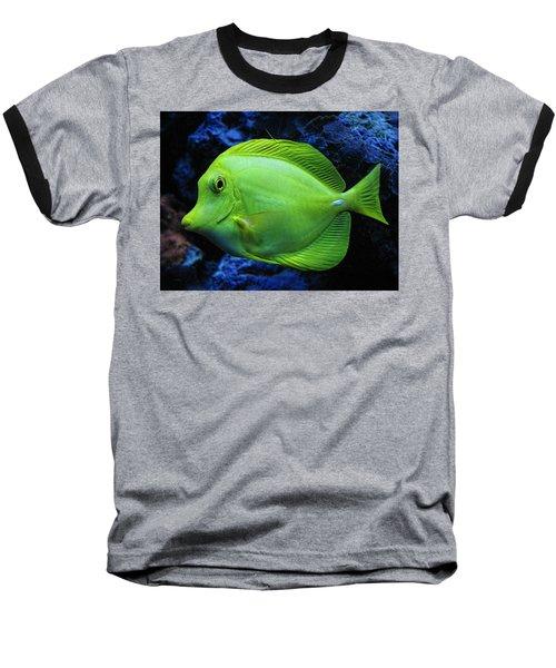 Green Fish Baseball T-Shirt