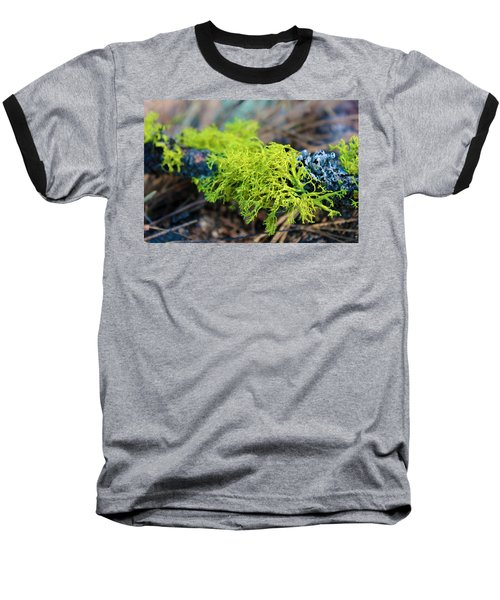 Green Lichen Baseball T-Shirt