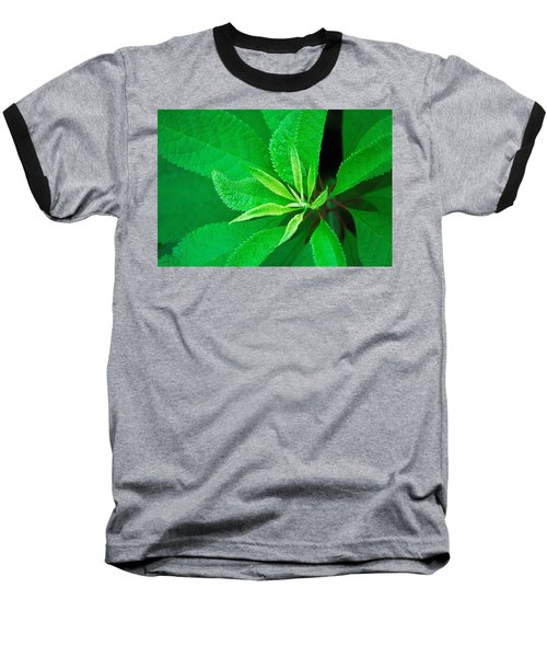 Baseball T-Shirt featuring the photograph Green by Ludwig Keck