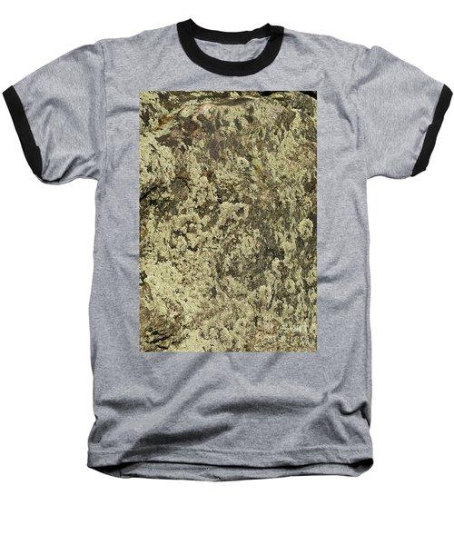 Baseball T-Shirt featuring the photograph Green Moss by Les Palenik