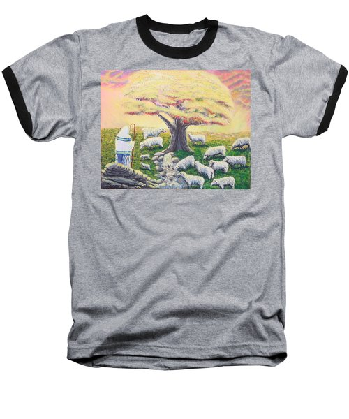 Green Pasture  Baseball T-Shirt