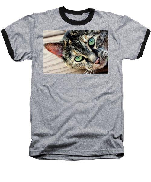 Green Pepper Baseball T-Shirt