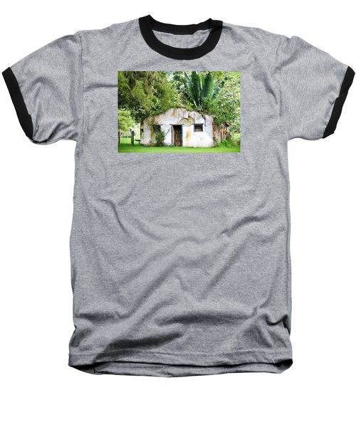 Green Roof Baseball T-Shirt