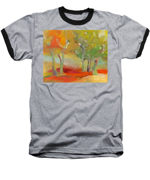 Green Trees Baseball T-Shirt
