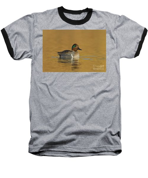Green Wing Teal Baseball T-Shirt
