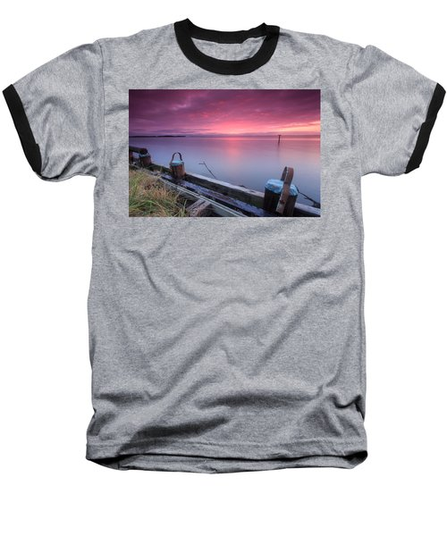 Greenbury Point Sunrise Baseball T-Shirt