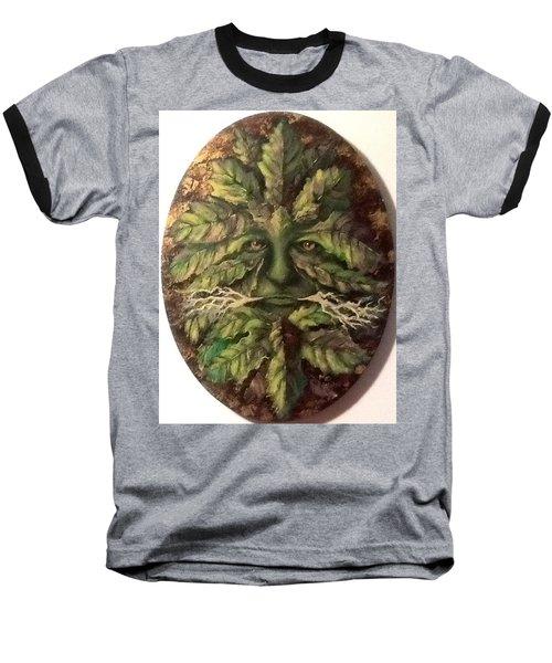 Greenman Baseball T-Shirt by Megan Walsh