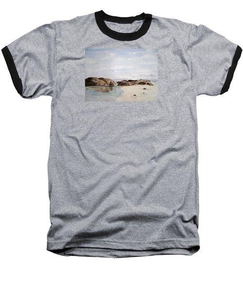 Greens Pool Western Australia Baseball T-Shirt by Elvira Ingram