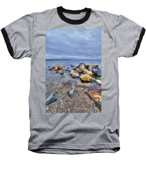 Baseball T-Shirt featuring the photograph Greenwich Bay by Alex Grichenko
