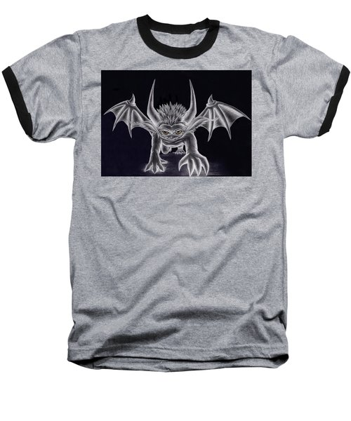 Grevil Silvered Baseball T-Shirt by Shawn Dall
