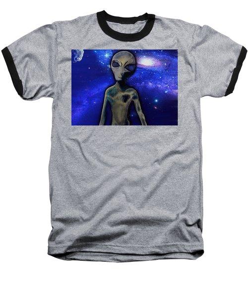 Grey By M.a Baseball T-Shirt