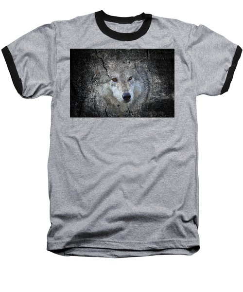 Grey Stone Baseball T-Shirt by Athena Mckinzie
