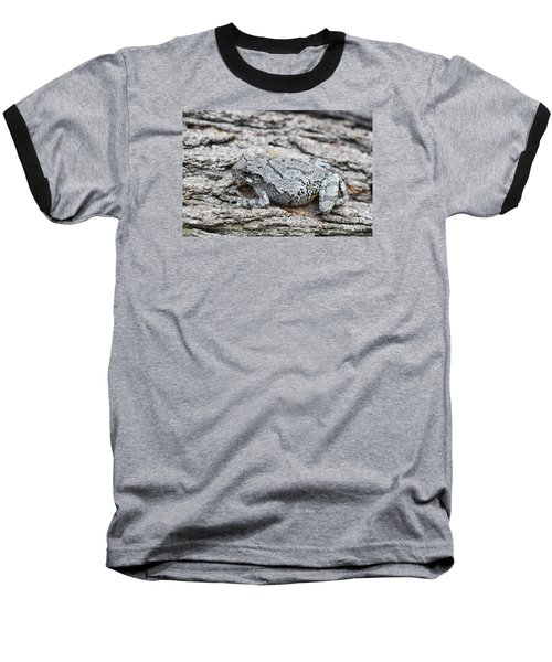Baseball T-Shirt featuring the photograph Cope's Gray Tree Frog by Judy Whitton