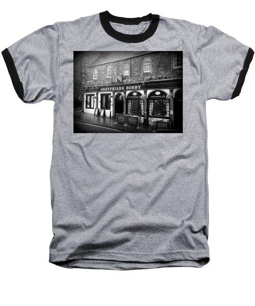 Greyfriars Bobby In Edinburgh Scotland  Baseball T-Shirt