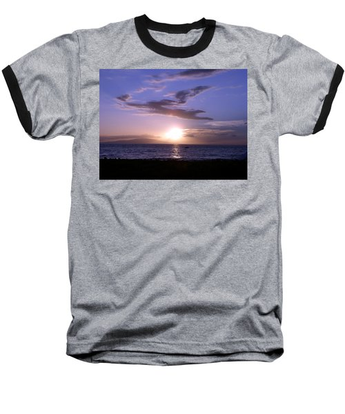 Greyhound In The Sky Baseball T-Shirt