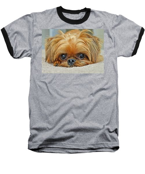 Baseball T-Shirt featuring the photograph Griff by Lisa Phillips