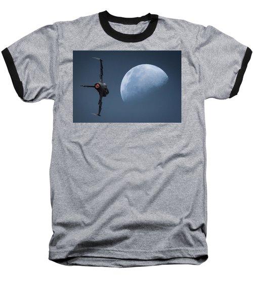 Gripen Moon Baseball T-Shirt