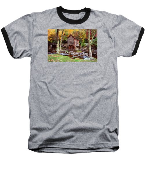 Grist Mill In Babcock St. Park Baseball T-Shirt