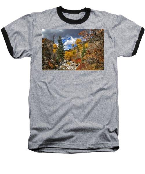 Grizzly Creek Cottonwoods Baseball T-Shirt