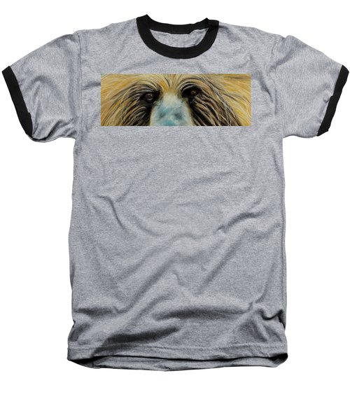 Grizzly Eyes Baseball T-Shirt