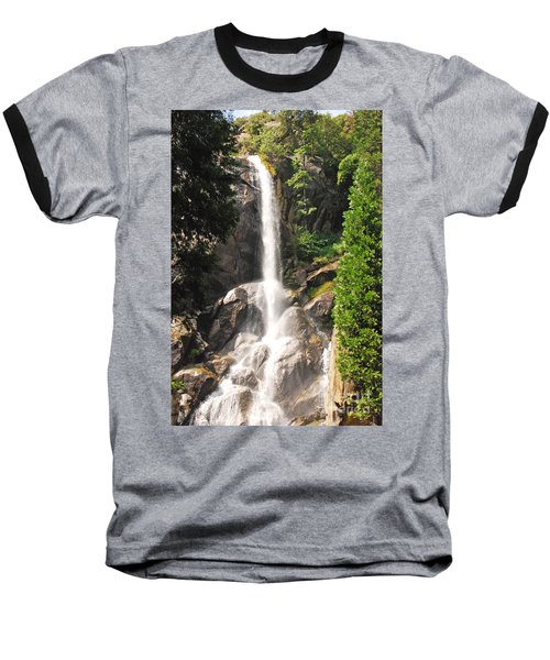 Baseball T-Shirt featuring the photograph Grizzly Falls by Mary Carol Story