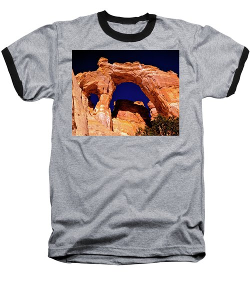 Grosvenor Arch Sunset Kodachrome Basin Baseball T-Shirt
