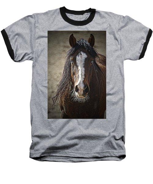 Grungy Boy Baseball T-Shirt