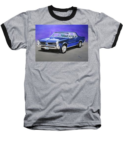 Gto 1965 Baseball T-Shirt by Thomas J Herring