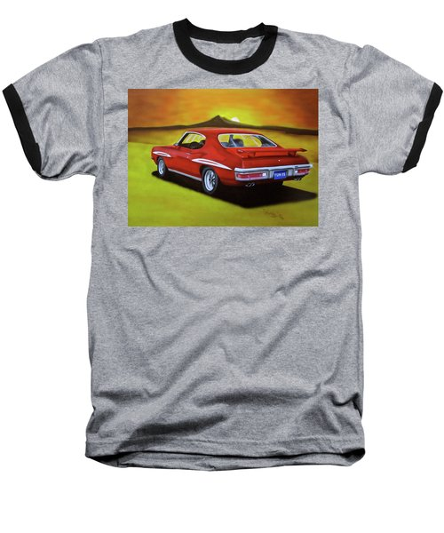 Gto 1971 Baseball T-Shirt by Thomas J Herring