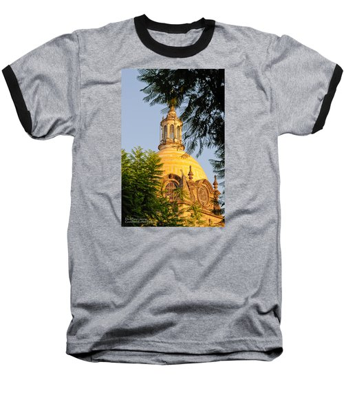 Baseball T-Shirt featuring the photograph The Grand Cathedral Of Guadalajara, Mexico - By Travel Photographer David Perry Lawrence by David Perry Lawrence