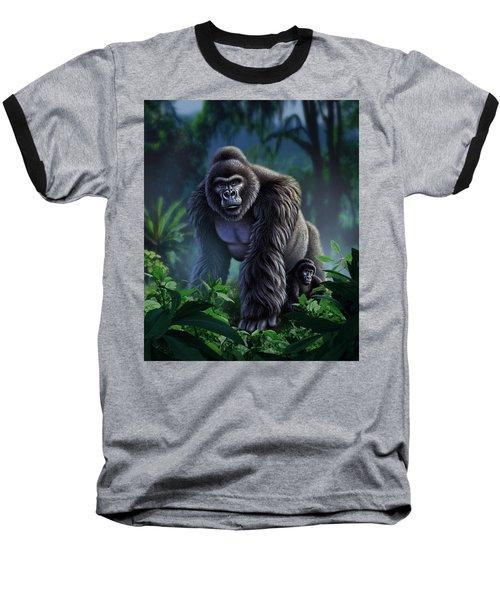 Guardian Baseball T-Shirt by Jerry LoFaro