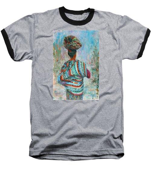 Guatemala Impression I Baseball T-Shirt by Xueling Zou