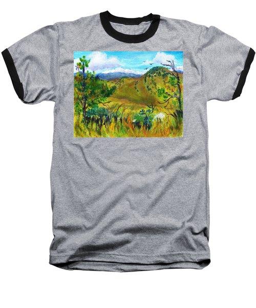 Guilty Pleasures Baseball T-Shirt by C Sitton