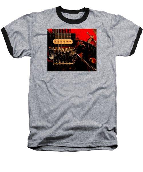 Guitar Pickup Baseball T-Shirt by John Stuart Webbstock