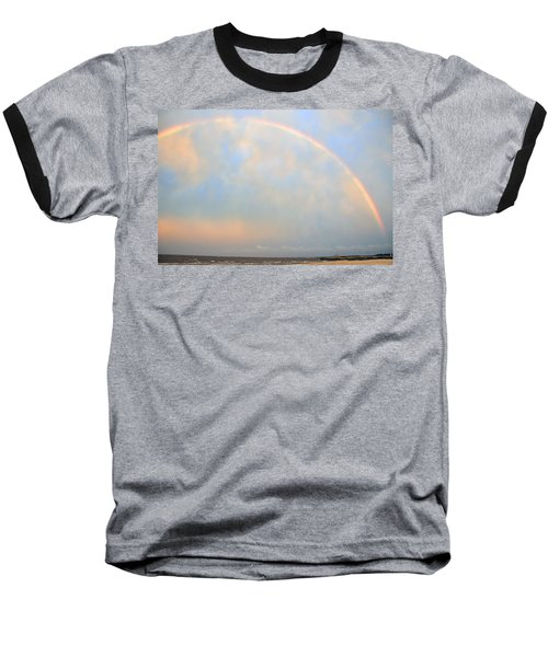 Baseball T-Shirt featuring the photograph Gulf Coast Rainbow by Charlotte Schafer
