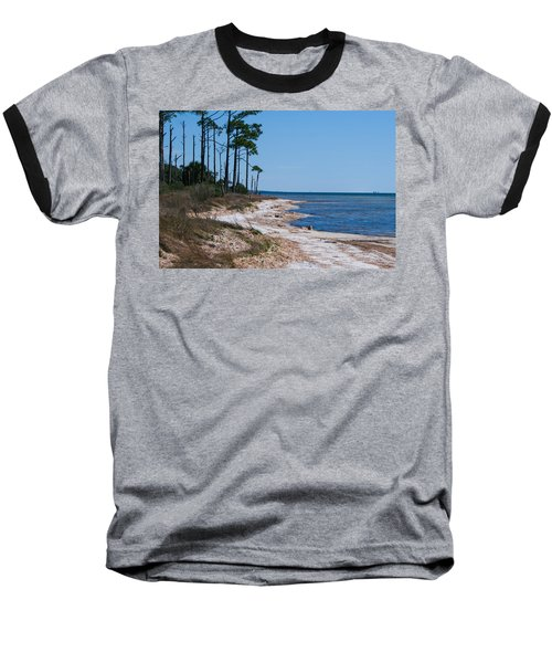 Gulf Island National Seashore 2 Baseball T-Shirt