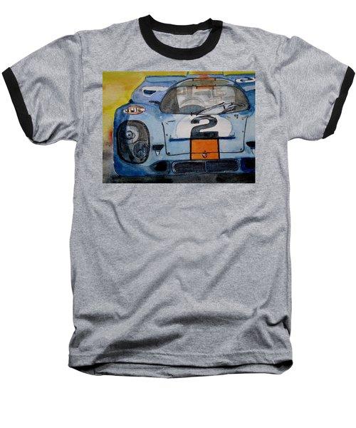 Gulf Porsche Baseball T-Shirt