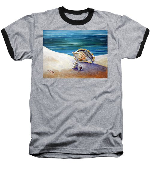 Gulf Shores And Shells II Baseball T-Shirt