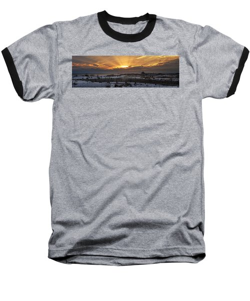 Gulf Shores From Pavilion Baseball T-Shirt