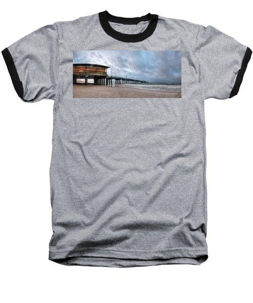 Gulf State Pier Baseball T-Shirt by Michael Thomas