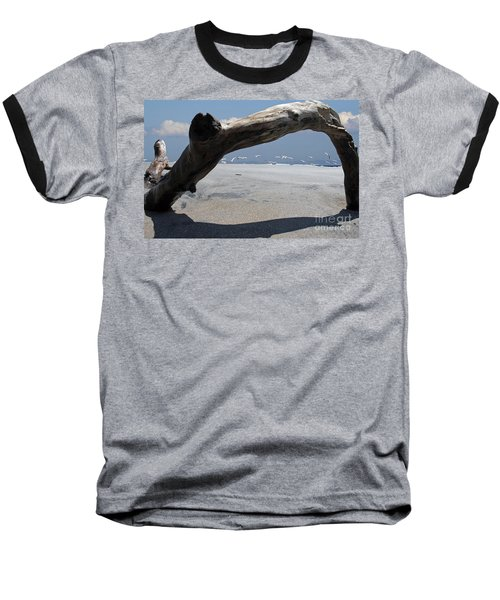 Gulls Away Baseball T-Shirt