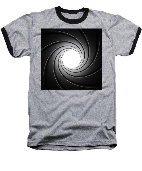 Gun Barrel From Inside Baseball T-Shirt