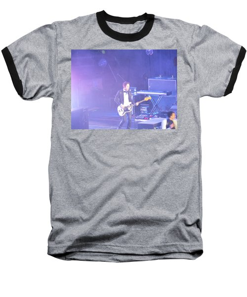 Baseball T-Shirt featuring the photograph Gutair Player For Royal Taylor by Aaron Martens
