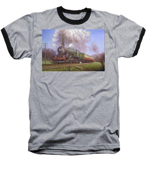 Gwr King Class On Dainton Bank. Baseball T-Shirt